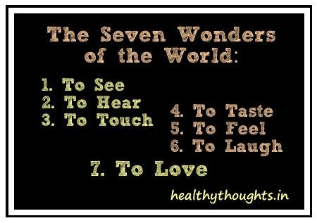 The 7 wonders in the world – Absolutely free