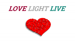 Love, Light, Live Logo