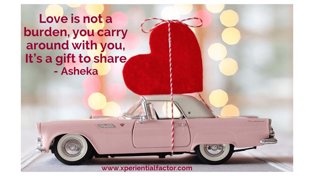 Love is not a burden