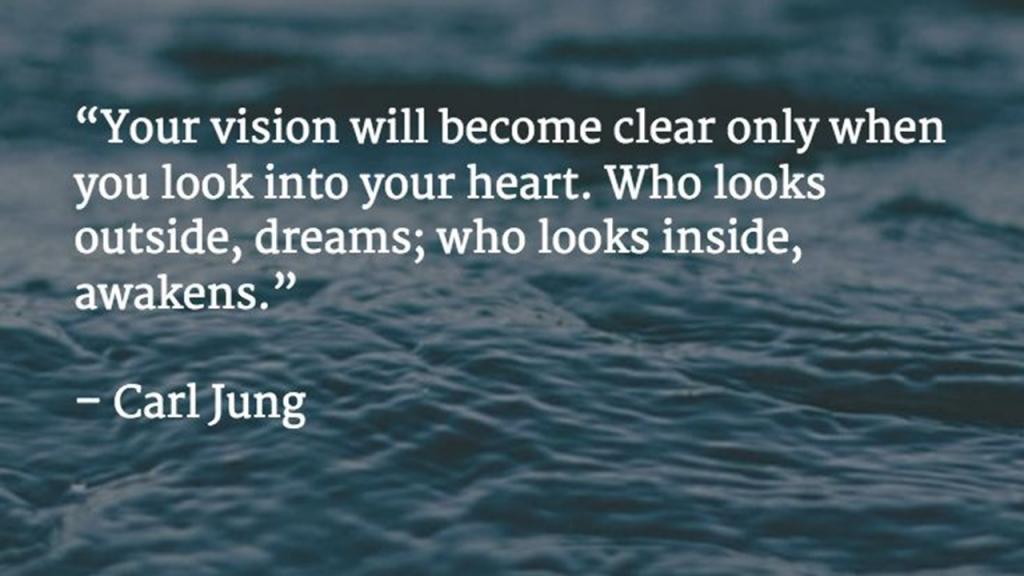Look inside and awaken