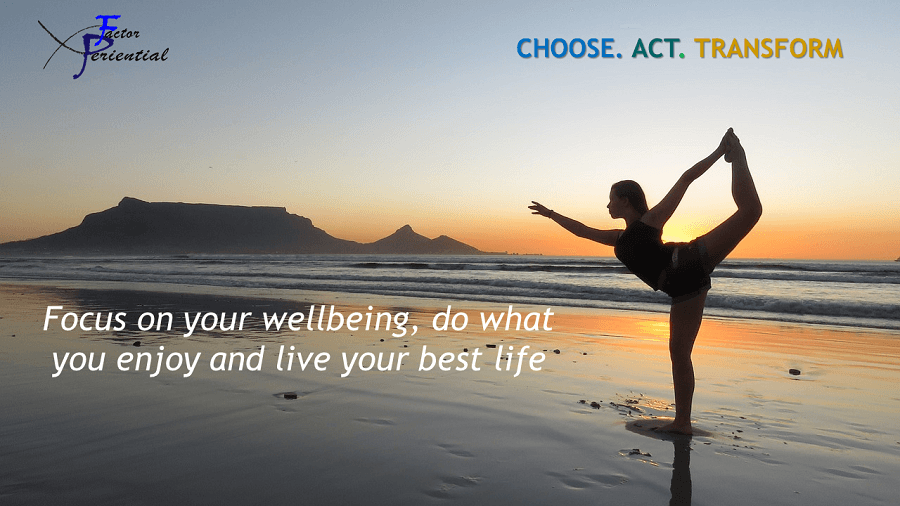 Focus on your Well-Being