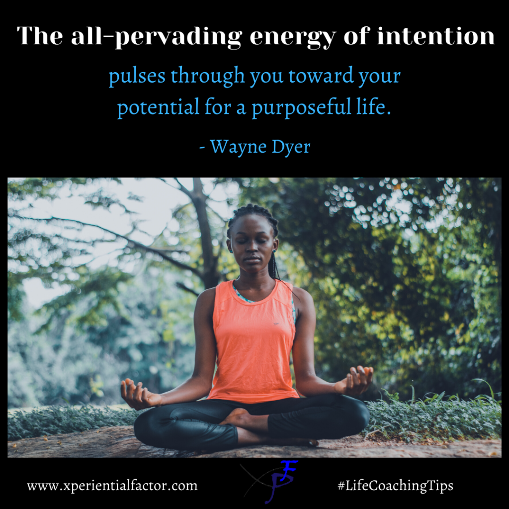 Your power of intention