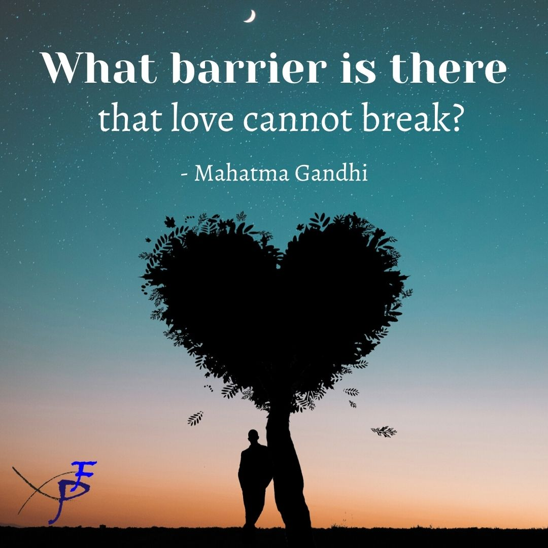 What barrier is there that love cannot break?