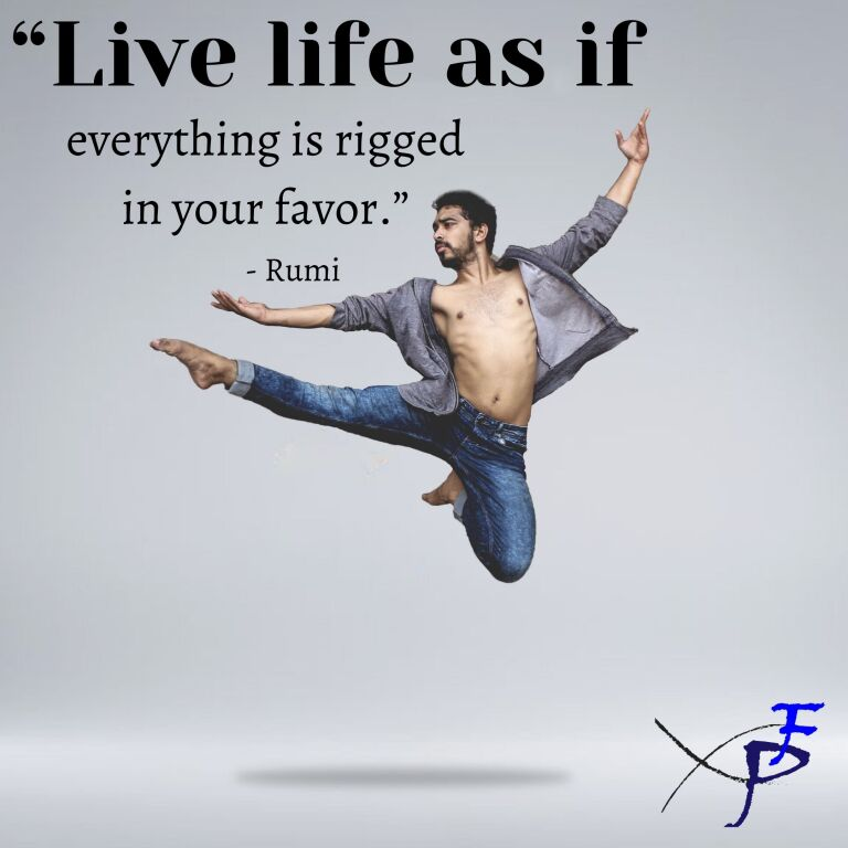 What if life is rigged in your favor?
